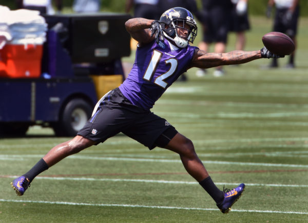 Mike Wallace Has His Best Day of Camp