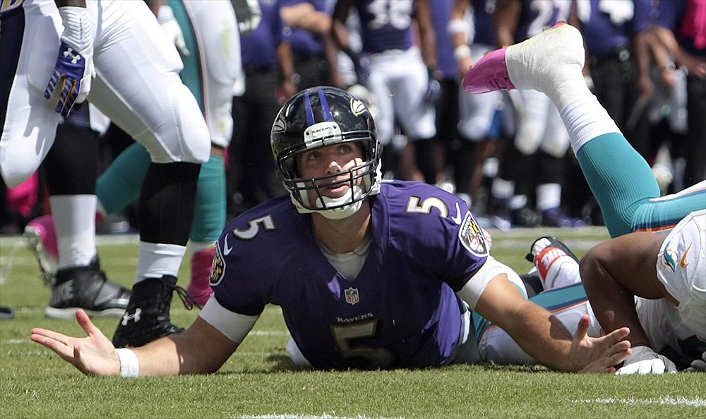PiR: Flacco's Pick Streak Reaches 8