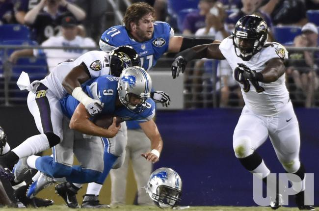 Ravens Defensive Notes v. Lions