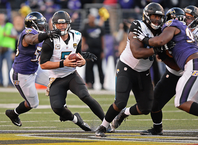 Ravens Clean, Jags Full of Flags