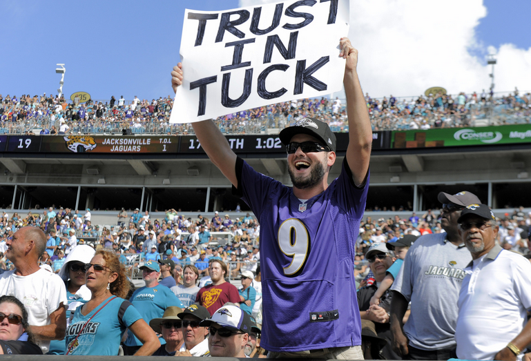 Harbaugh Impressed with Ravens Fans