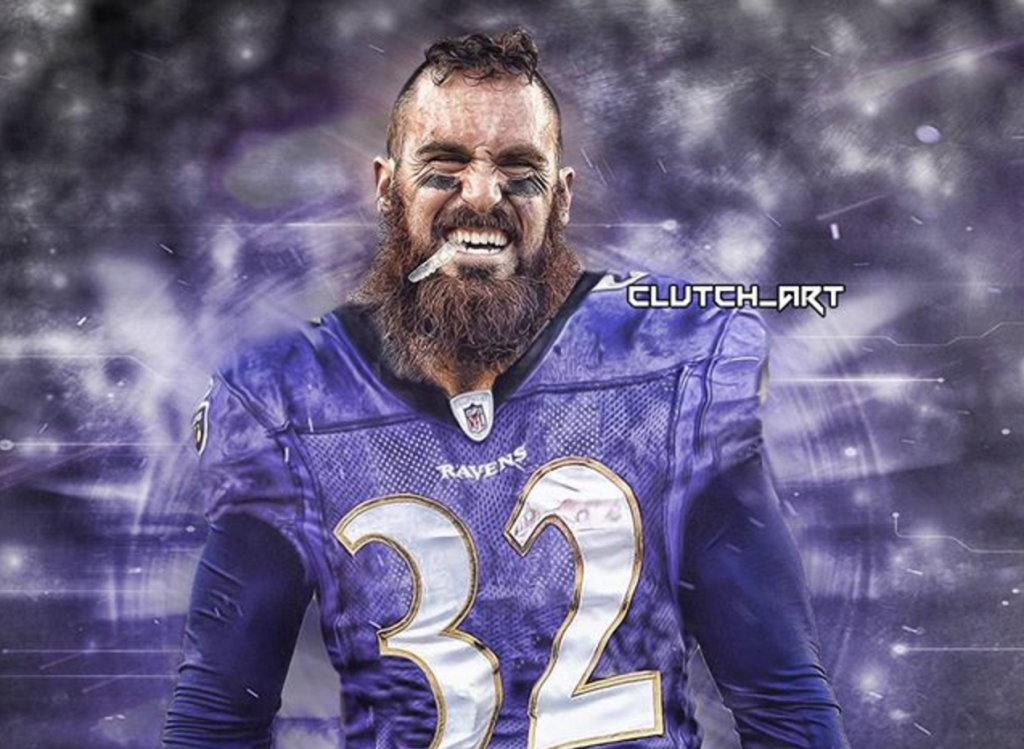 Weddle Leads The Ravens Defense