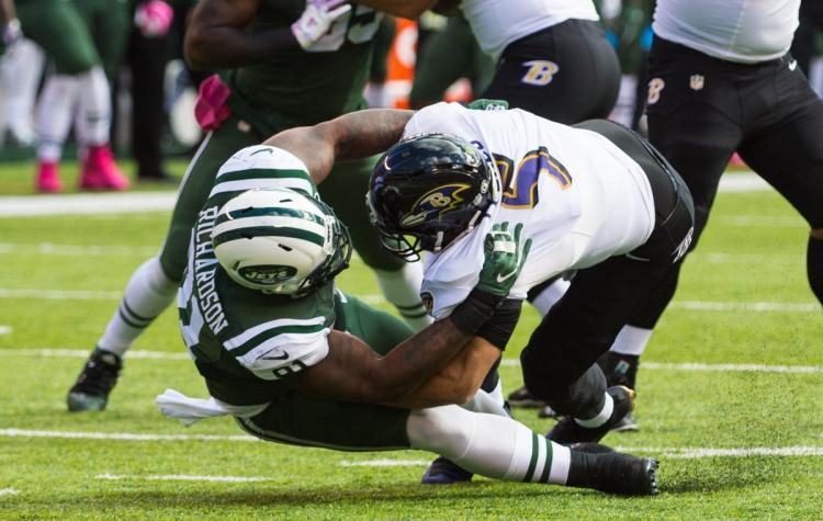Ravens Stink up MetLife Stadium