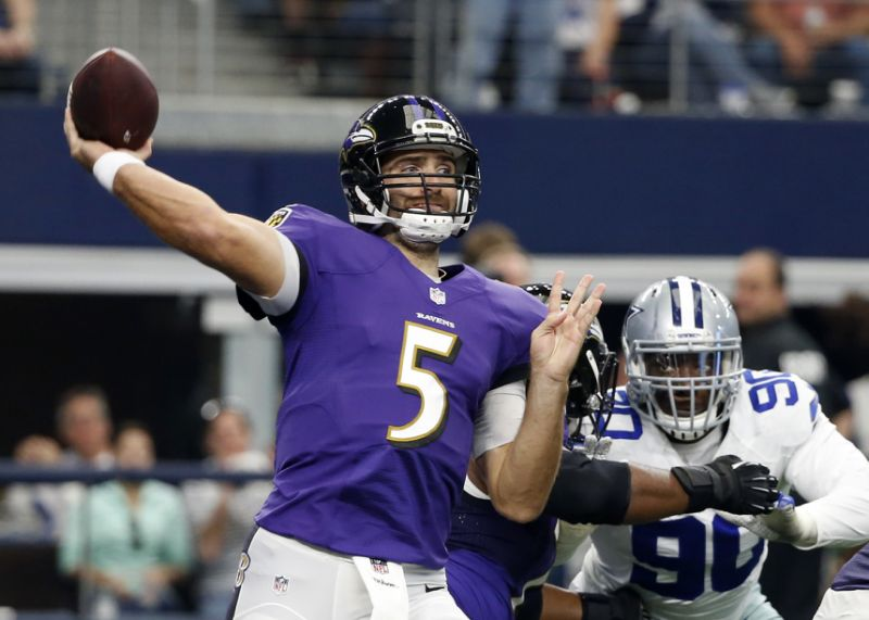 Ravens Miss Opportunities in Dallas