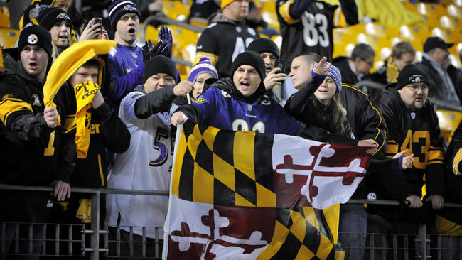 Ravens-Steelers Anything but Peaceful
