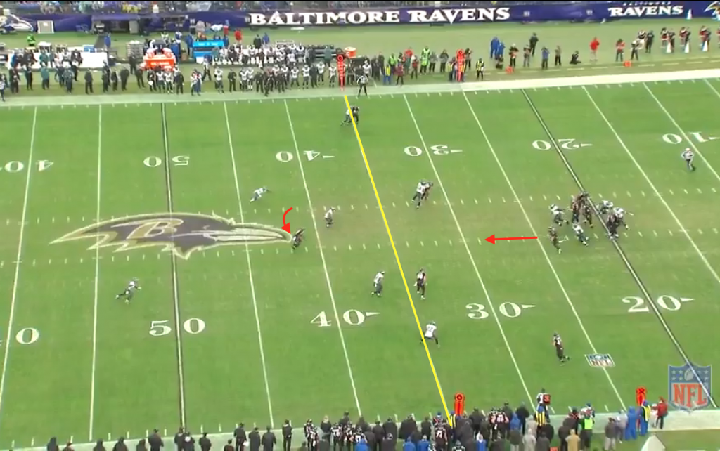 Flacco to Wallace 2