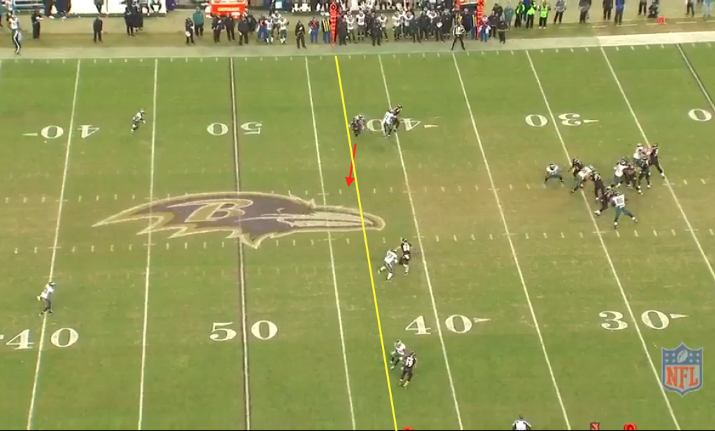 Flacco to Wallace Q4 1