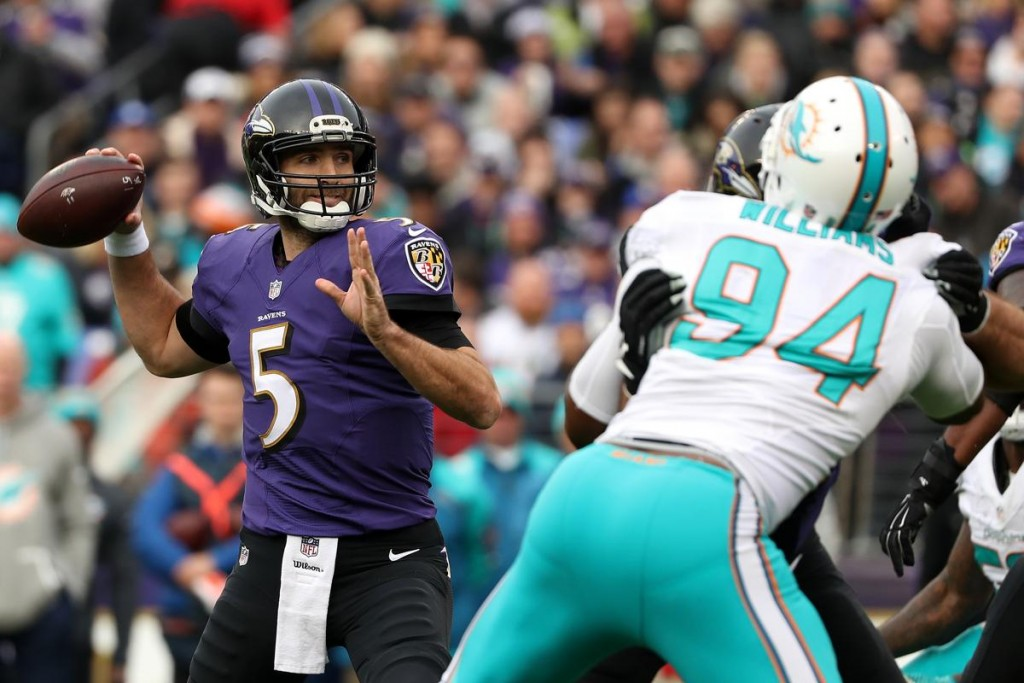 Ravens Unleash Joe Flacco