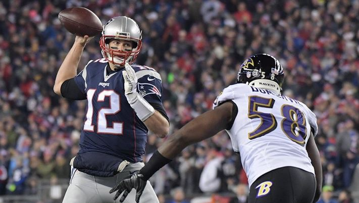 Ravens Fall in New England, 30-23