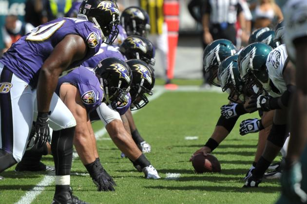 Ravens (7-6) vs. Eagles (5-8)