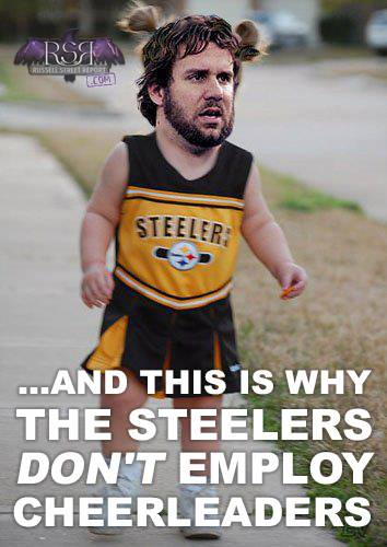Steelers Ben cheerleader