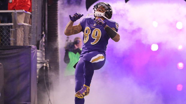 Steve Smith Sr Still A Raven At Heart