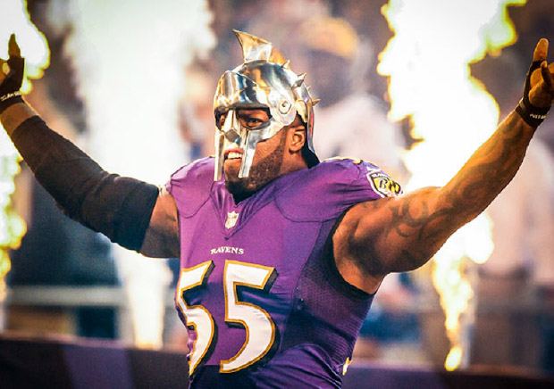 Terrell Suggs is Back!
