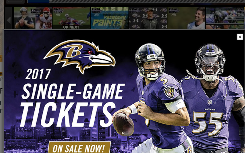 Image Courtesy of BaltimoreRavens.com
