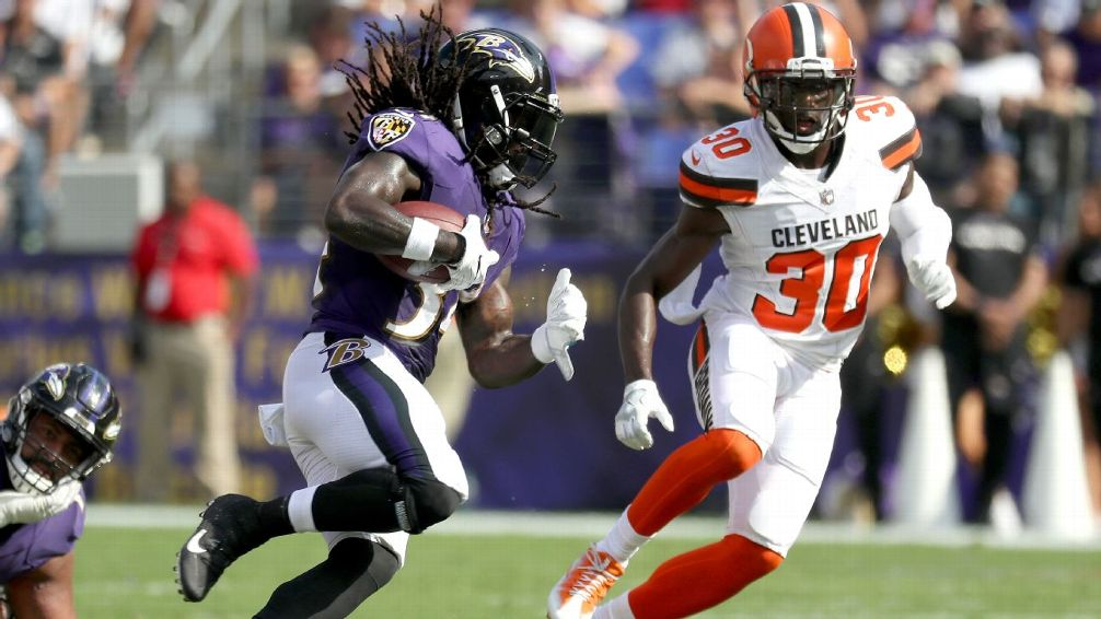 Alex Collins Shows Promise