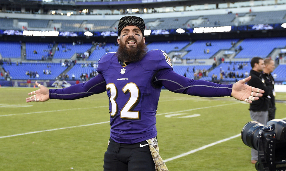 Eric Weddle is Undeniably a Raven