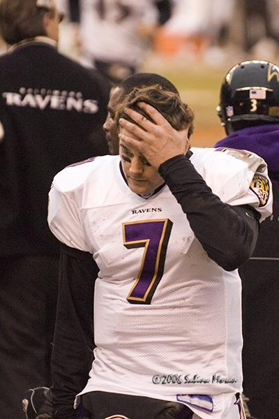 LOMBARDI'S WAY: BOLLER PAYS PRICE FOR RAVENS' QB ANXIETY