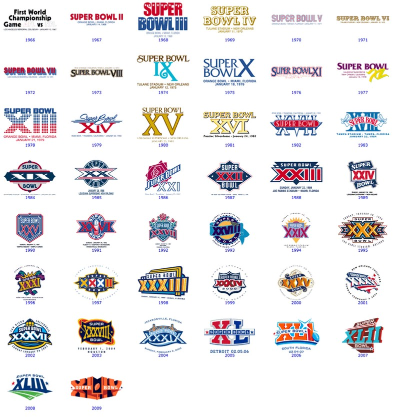 Why are the Super Bowl logos so boring now?