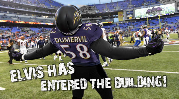 Elvis Dumervil is first in new wave of free agent recruitment for Ravens