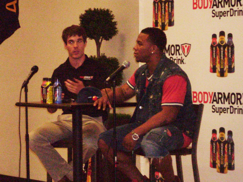 Ray Rice shines in spring fundraiser sponsored by BodyArmor SuperDrink