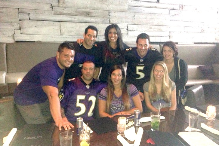 Ravens Fans Say It's OK in Delray!