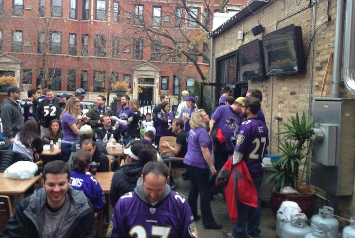 Chicago is a Ravens Kind of Town