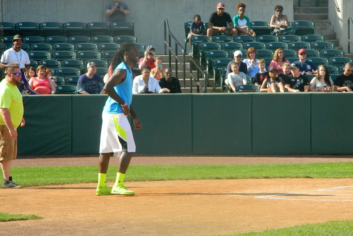 Ravens Host Celebrity Kickball Classic