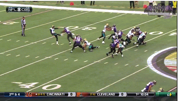 Ravens' First Punt Block TD Since '03