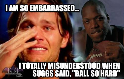 "Tom Brady Redefines ""Ball So Hard"""