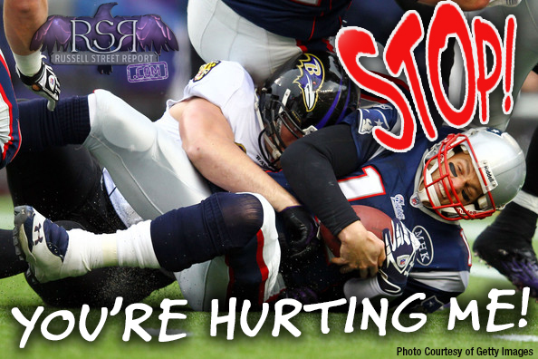 Cry Brady is Hurt