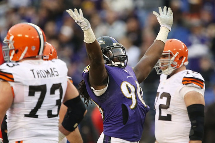 Ravens Bring Back Pernell McPhee
