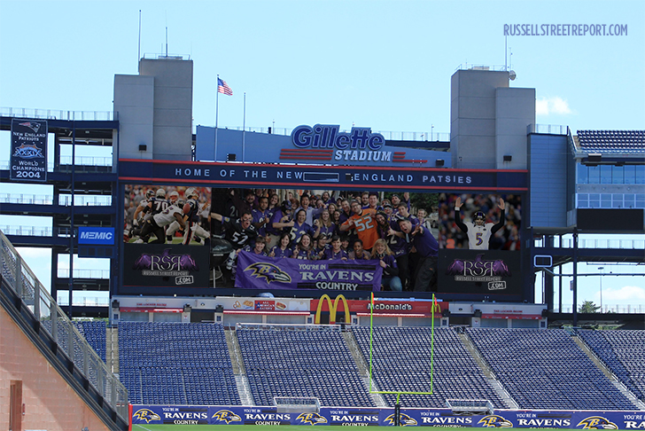 Ravens Nation Set to Invade Gillette