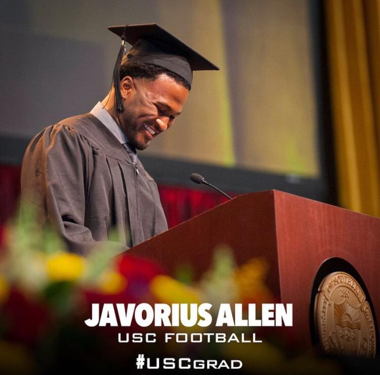 Buck Allen Returns to USC to Graduate