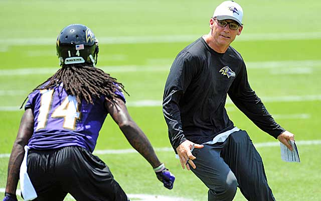 Trestman Throwing a Lot at Joe Flacco