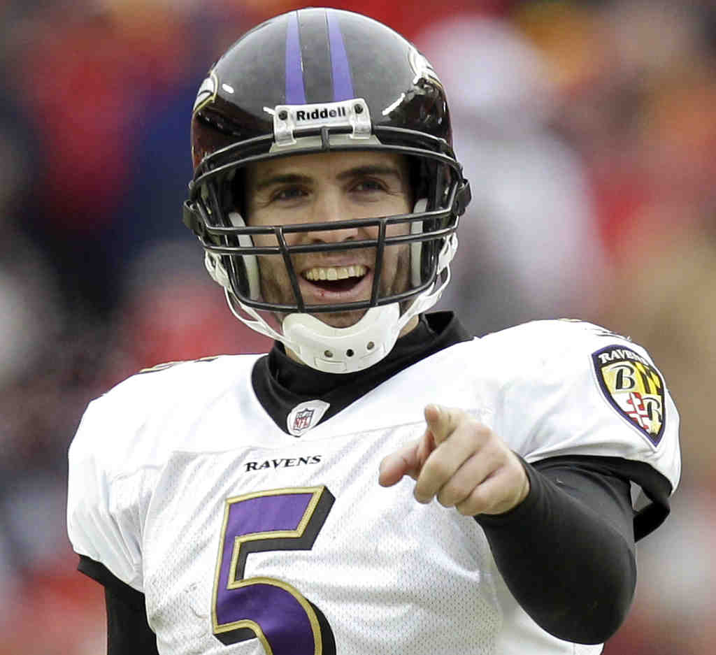 Writer Puts Flacco in 7th Tier of QBs