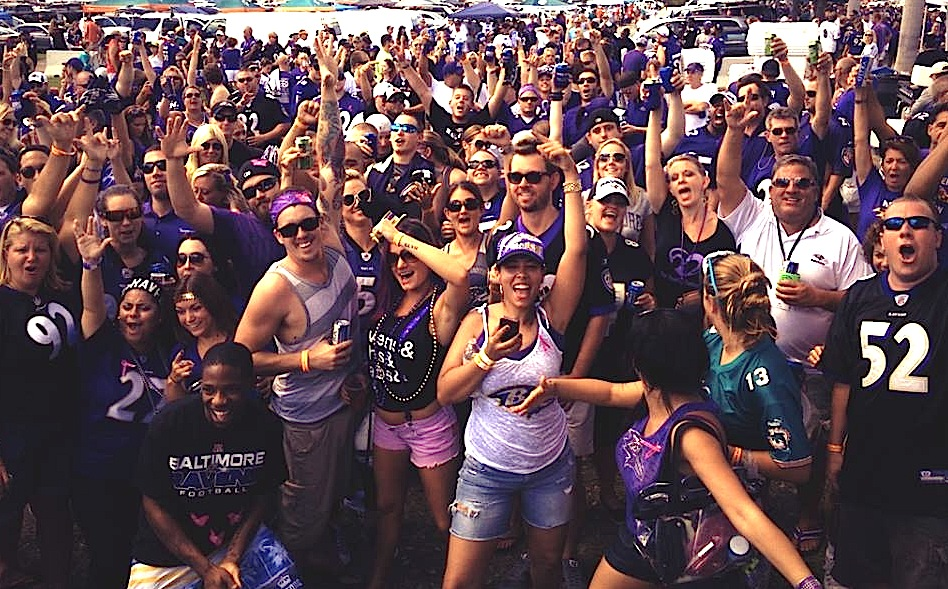 The Purple Tailgate Party Is On Russell Street Report