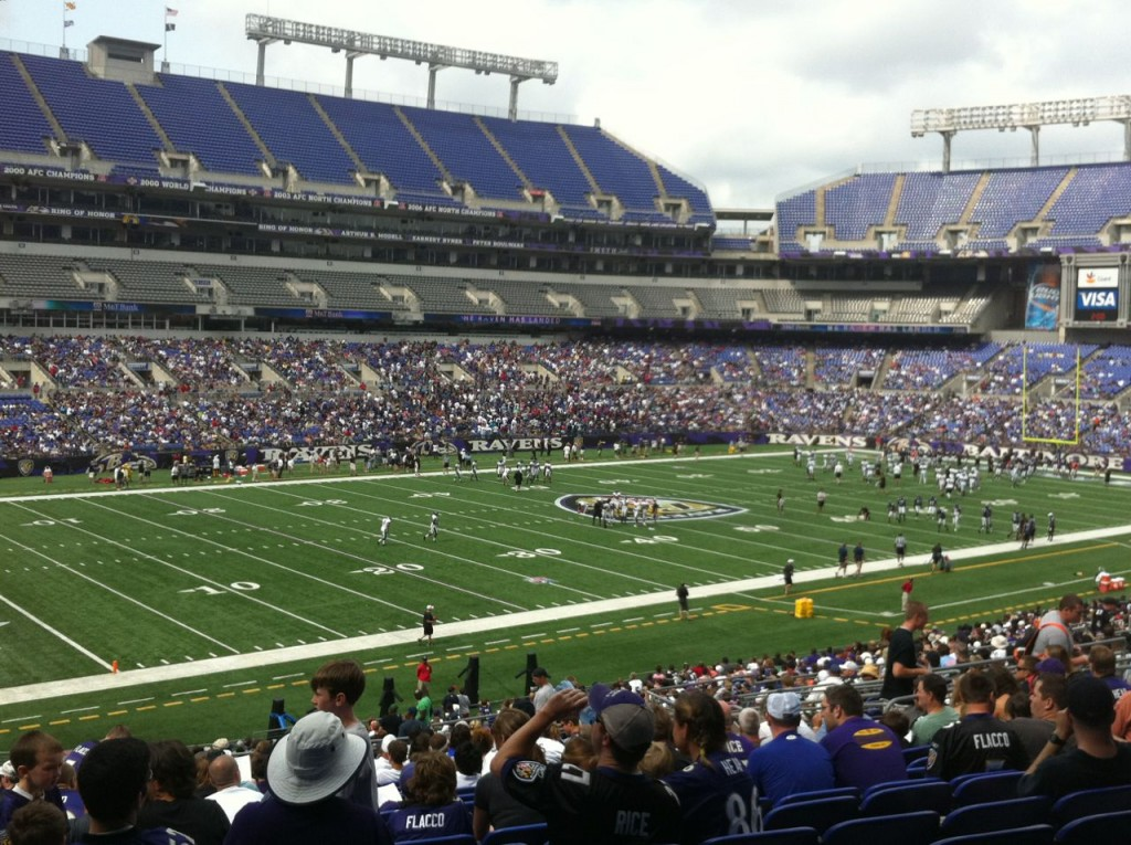 Ravens Practice at M&T Bank Stadium
