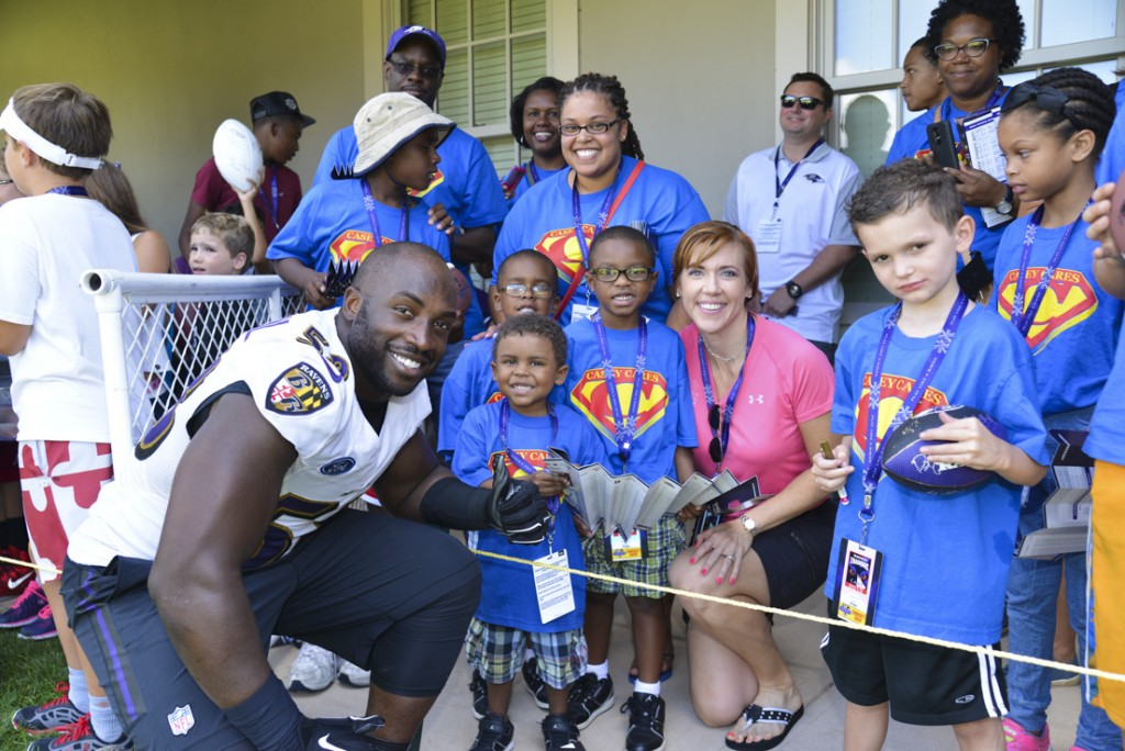 Casey Cares, Special Olympics Visit Camp