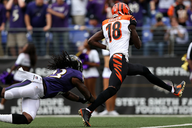 TRIGGERED: AJ GREEN DOESN'T OWN RAVENS!