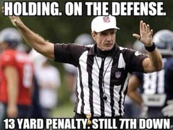 NFL's Officiating Crisis Continues