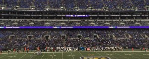Ravens come back to win vs. Rams, but it comes in front of a lot of empty purple seats at M&T Bank Stadium