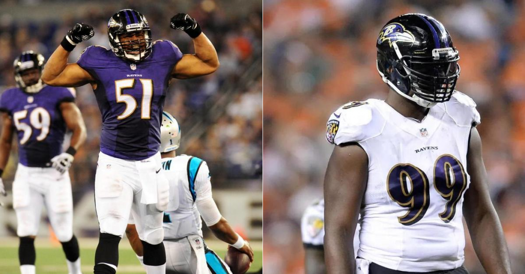 Smith, Canty Become Ravens' Cap Victims