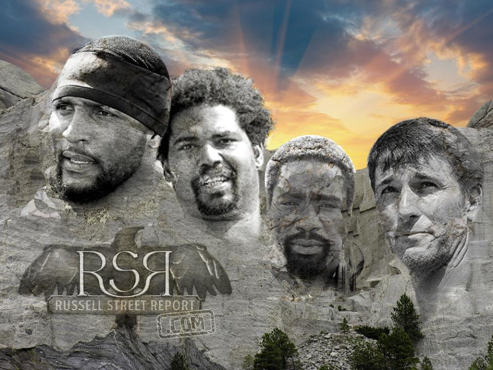 The Ravens Mount Rushmore