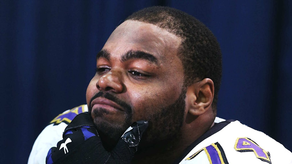 Former Raven Oher Steals From Panthers