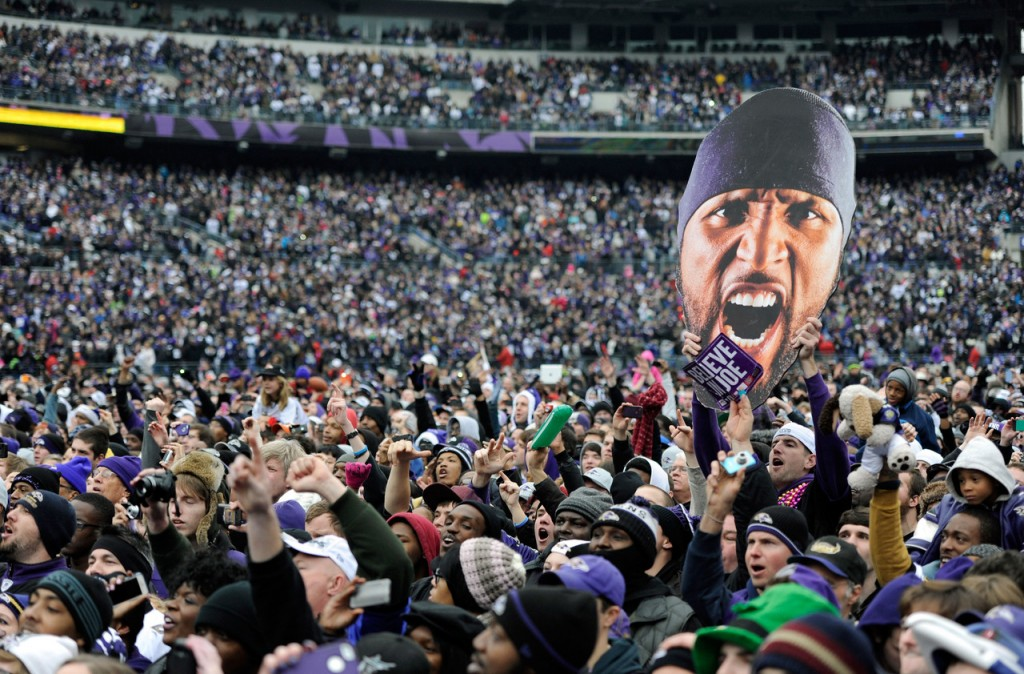 Ravens Fans Fall Short in Emory Report