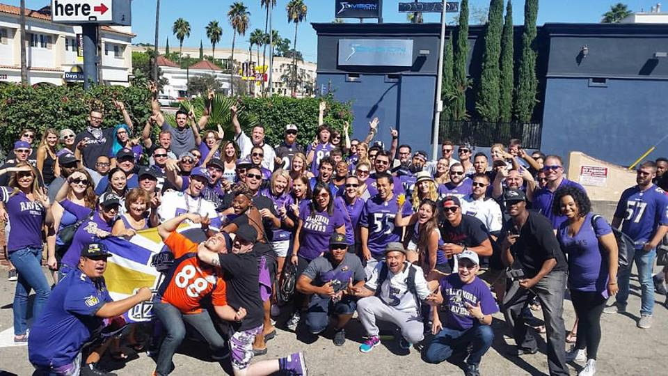 The Best Displaced Ravens Fans