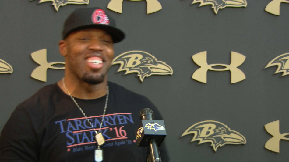 Terrell Suggs Speaks…Explicitly