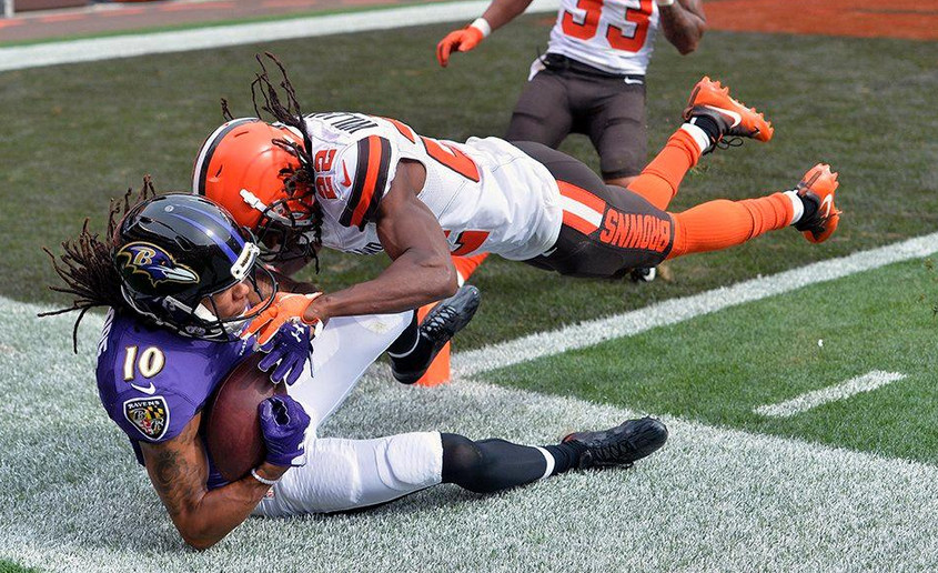 Ravens at Browns – Thursday