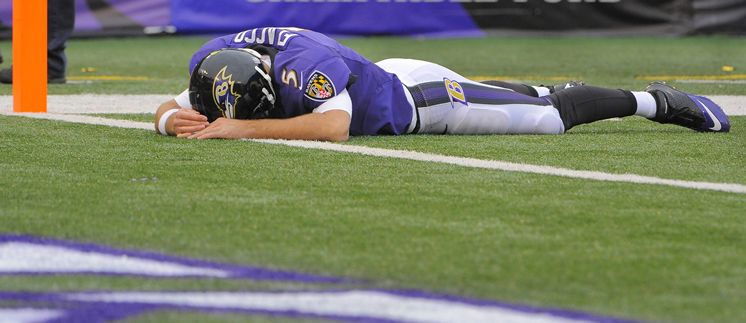5 Stages of Grief After a Ravens Loss