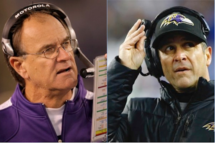ALL TIME BEST:  Ravens Head Coach